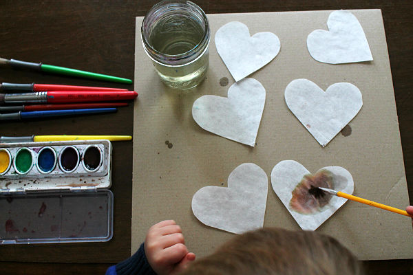 coffee filter hearts 1