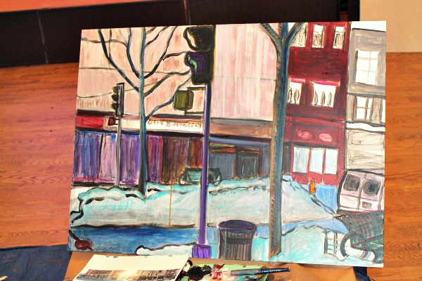 art van painting progress-1