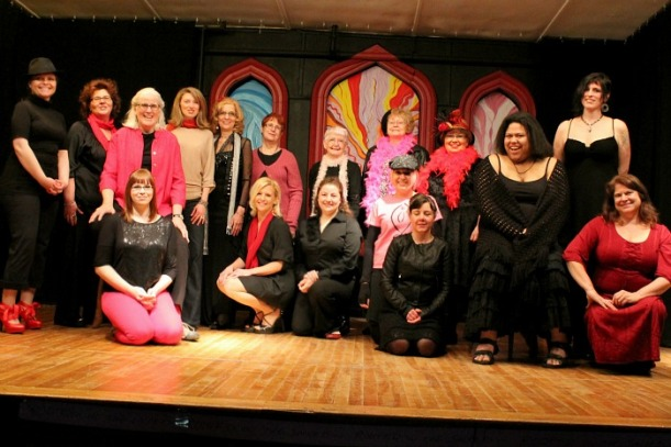 Vagina Monologues Cast Photo