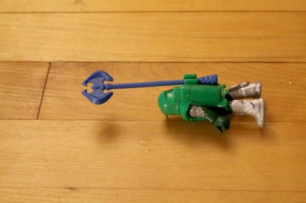 fallen toy