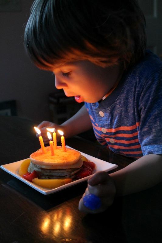 Simon's 4th birthday 1